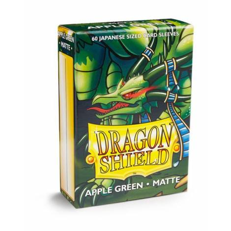 Dragon Shield – Japanese Matte Deck Protectors 60-ct Apple Green