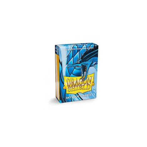 Dragon Shield – Japanese Matte Deck Protectors 60-ct Sky Blue