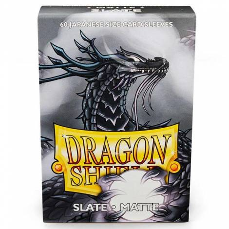 Dragon Shield – Japanese Matte Deck Protectors 60-ct Slate