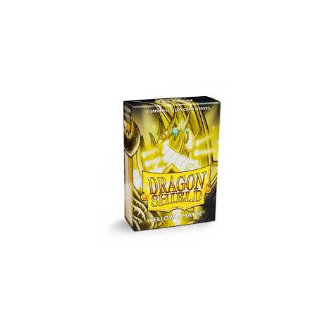 Dragon Shield – Japanese Matte Deck Protectors 60-ct Yellow