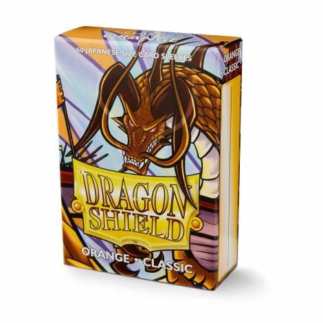 DRAGON SHIELD ORANGE SMALL 60 ART10613