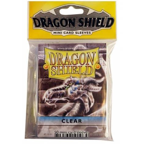 DRAGON SHIELD SMALL MATTE CLEAR 60-CT