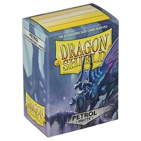 Dragon Shield - Standard Sized Sleeves Petrol Matte - 100ct (ART11020)