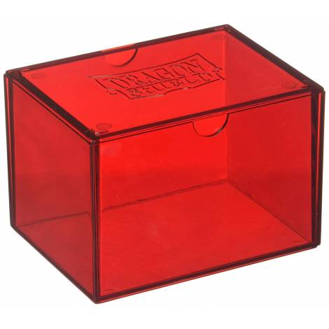 Dragon Shield Strongbox - Red (Holds 100 Sleeved Cards)