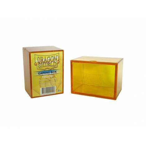 Dragon Shield Strongbox - Yellow (Holds 100 Sleeved Cards)