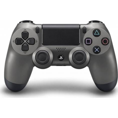 Sony Dualshock 4 Controller Wireless Steel Black V2 (PS4) & Δώρο PS4 Game
