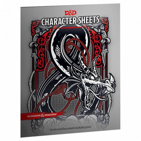 DUNGEONS & DRAGONS 5 : CHARACTER SHEETS