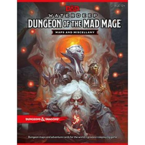 Dungeons & Dragons : Waterdeep - Dungeon Of The Mad Mage - Maps & Miscellany
