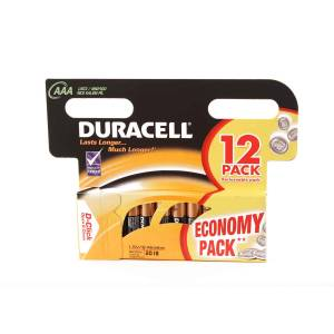 DURACELL BASIC AAA – 12 PACK