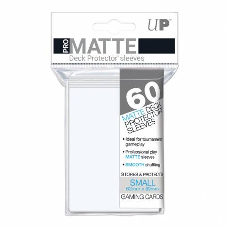Eclipse Arctic White Small Matte Sleeves 60ct (REM15636)