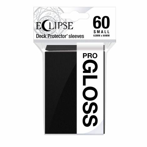 Eclipse Gloss Small Size Jet Black Sleeves (60ct) (REM15625)