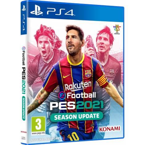 eFootball PES 2021 & myClub Bonus Συμβατο με Ps5 (PS4)  (Ελληνικό)