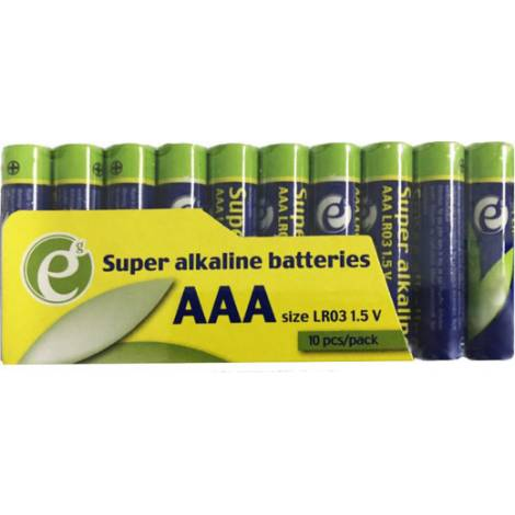 Energenie Super Alkaline AAA Battery 10Pack (EG-BA-AAASA-01)