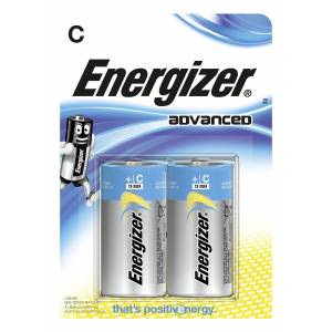 ENERGIZER ADVANCED C - 2 PACK