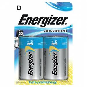 ENERGIZER ADVANCED D - 2 PACK