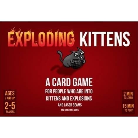Επιτραπέζιο Exploding Kittens - Εκρηκτικά Γατιά ΚΑΙΣΣΑ