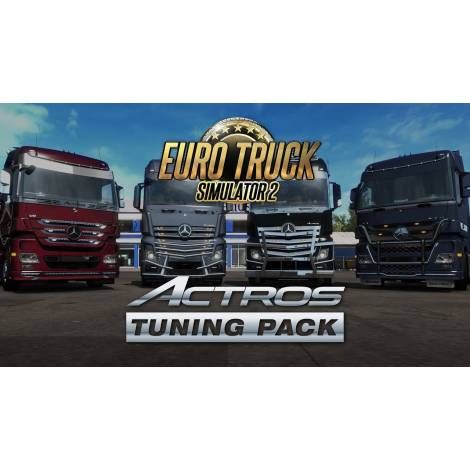 Euro Truck Sim 2  Actros Tuning Pack (PC) (Cd Key Only)