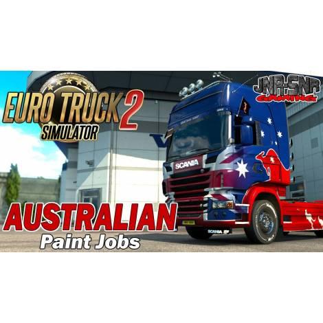 Euro Truck Simulator 2 Australian Paint Jobs Pack (PC) (Cd Key Only)
