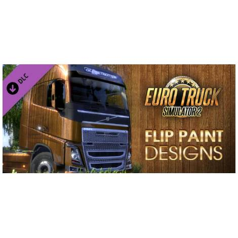 Euro Truck Simulator 2 Flip Paint Designs (PC) (Cd Key Only)