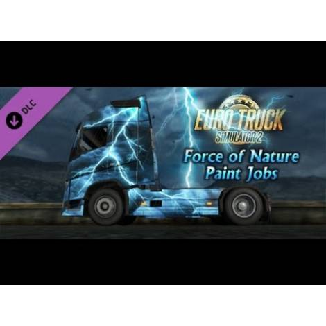 Euro Truck Simulator 2 Force of Nature Paint (PC) (Cd Key Only)
