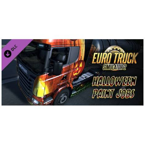 Euro Truck Simulator 2 Halloween Paint Jobs (PC) (Cd Key Only)