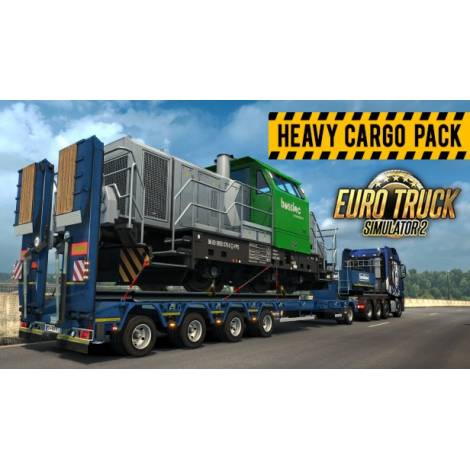 Euro Truck Simulator 2 Heavy Cargo Pack (PC) (Cd Key Only)