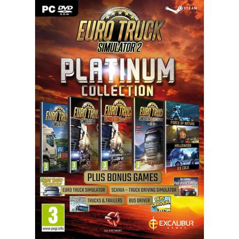 Euro Truck Simulator 2 Platinum Collection (PC) (Code Only)