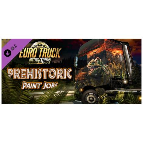 Euro Truck Simulator 2 Prehistoric Paint Jobs (PC) (Cd Key Only)