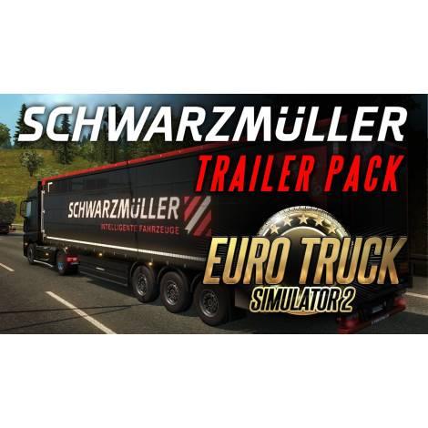 Euro Truck Simulator 2 Schwarzmüller Trailer Pack (PC) (Cd Key Only)