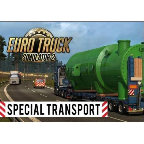 Euro Truck Simulator 2 Special Transport (PC) (Cd Key Only)