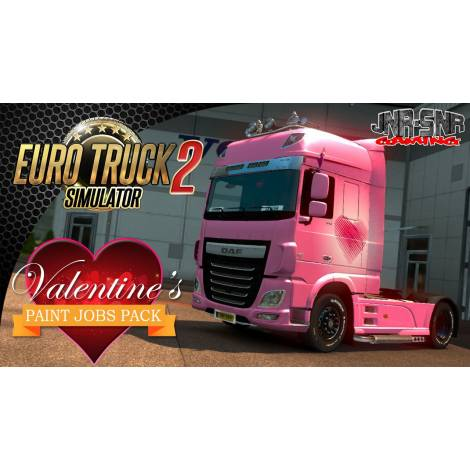 Euro Truck Simulator 2 Valentines Paint Jobs Pack (PC) (Cd Key Only)