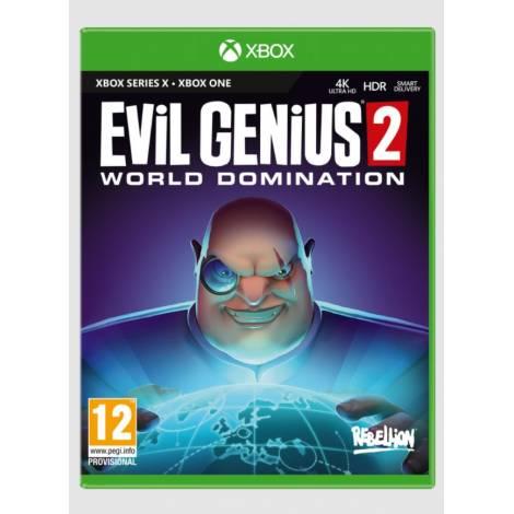 EVIL GENIUS 2: WORLD DOMINATION (Xbox One/Series X)