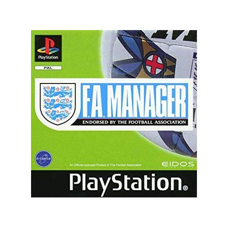 F.A. Manager (Playstation)  (CD Μονο)