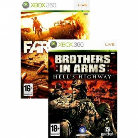 Far Cry 2 & Brother In Arms Hell`s Highway (XBOX 360)