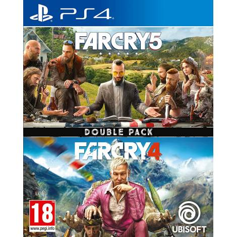 Far Cry 4 & Far Cry 5 (PS4)