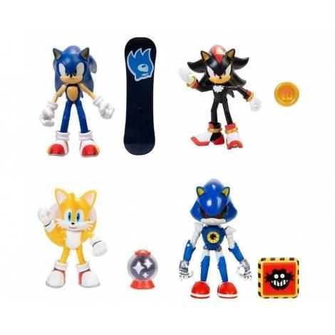 Jakks - Φιγούρα 10cm Sonic Wave 4-5 (4 σχέδια) (JPA40865)