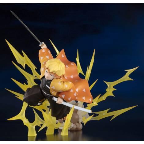 FiguartsZERO - Demon Slayer Kimetsu no Yaiba PVC Statue Zenitsu Agatsuma (Thunder Breathing) - 21 cm