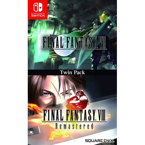 Final Fantasy VII & Final Fantasy VIII Remastered  - TWIN PACK (Nintendo Switch)