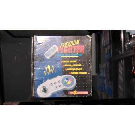 Fire - Freedom Fighter SNES Wireless Controllers x2