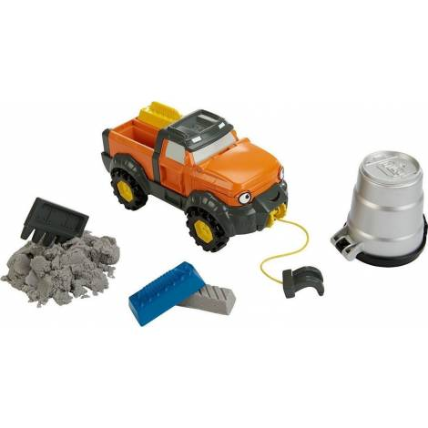 Fisher Price Bob the Builder Mash & Mould - Tread with Mouldable Sand! (DTP31)