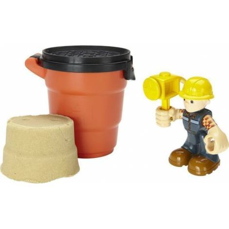 Fisher Price Bob the Builder - Woodworker Bob Action Figure - Includes Moldable Playsand! (DYT91)