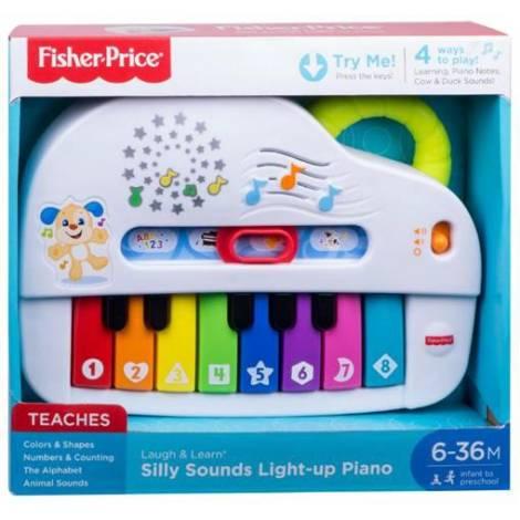 Fisher-Price Εκπαιδευτικό Πιάνο με Φώτα και Ήχους (GFV21)