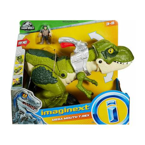 Fisher Price Imaginext: Jw Mega Mouth T-Rex (GBN14)