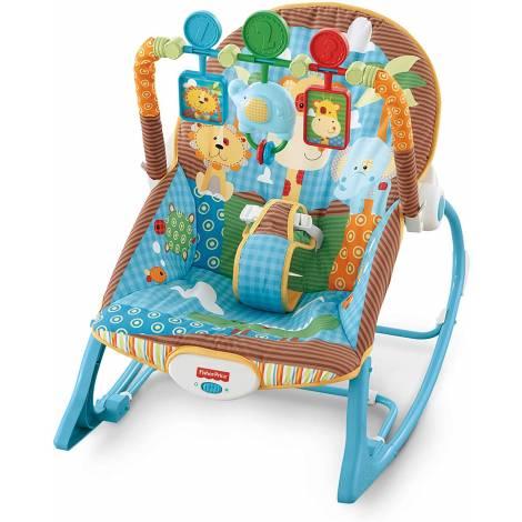 Fisher Price Infant-to-Toddler - Jungle Rocker (GNV69)