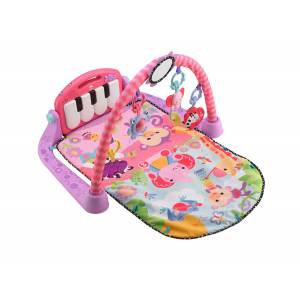 FISHER PRICE - KICK & PLAY PIANO GYM - PINK (BMH48)