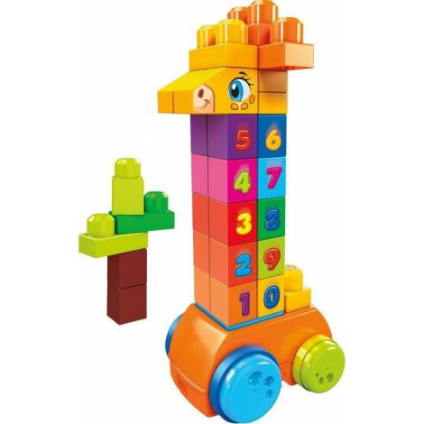 Fisher Price Mega Bloks - Count 'n Bounce Giraffe (GFG19)