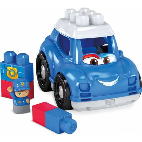 Fisher Price Mega Bloks: First Builders - Peter Police Car (GCX08)