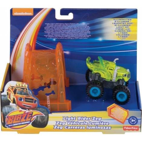 FISHER PRICE NICKELODEON: BLAZE AND THE MONSTER MACHINES - LIGHT RIDER ZEG (DTV25)
