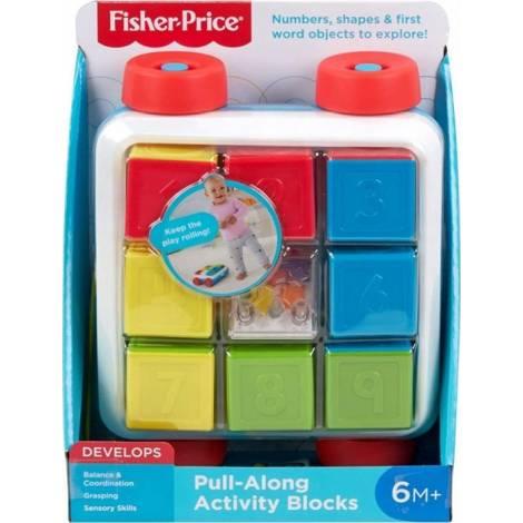 Fisher Price - Pull-Along Activity Blocks (GJW10)