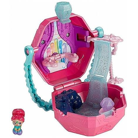 Fisher Price Shimmer Shine Teenie Genies - Rainbow Zahramay On-The-Go Playset (FHN38)